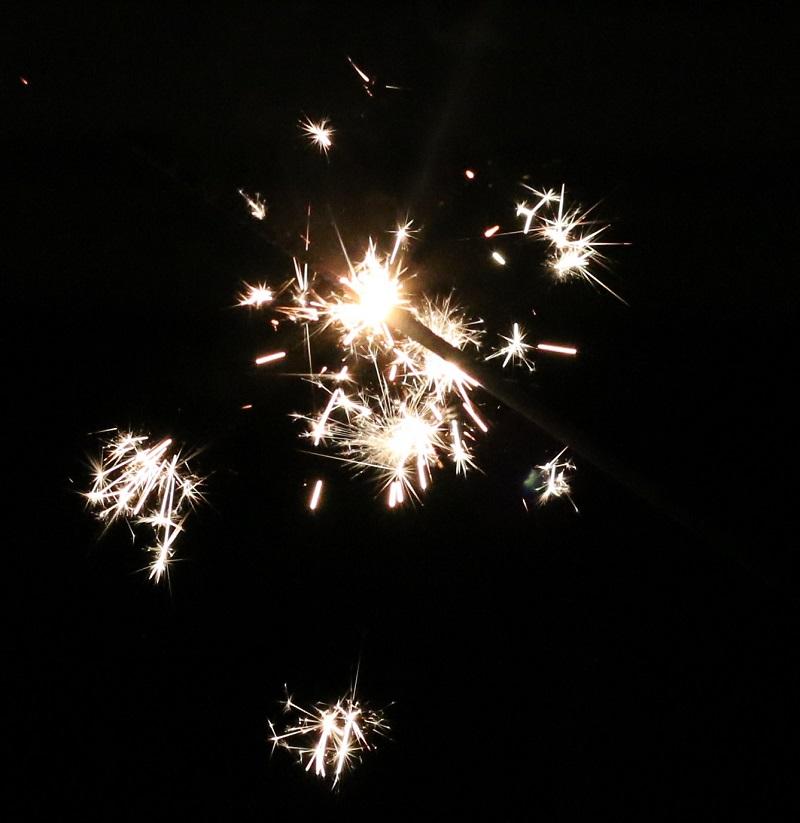 some sparkle