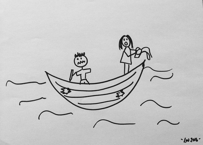 leaky boat